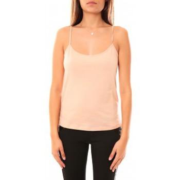 textil Mujer Camisetas sin mangas Coquelicot Débardeur CQTW14323 Beige Beige