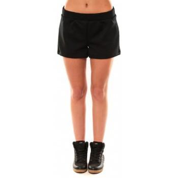 textil Mujer Shorts / Bermudas Coquelicot Short CQTW14617 Noir Negro