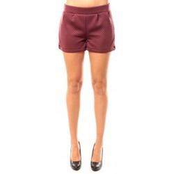 textil Mujer Shorts / Bermudas Coquelicot Short CQTW14617 Bordeaux Rojo
