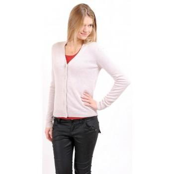 textil Mujer Chaquetas de punto American Vintage GILET CIN239H10 SABLE Beige
