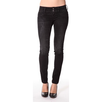 textil Mujer Vaqueros slim Meltin'pot Jeans Maryon D1489-UK010 Negro