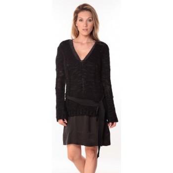 textil Mujer Jerséis Sack's Pull Military Noir 21190559 Negro