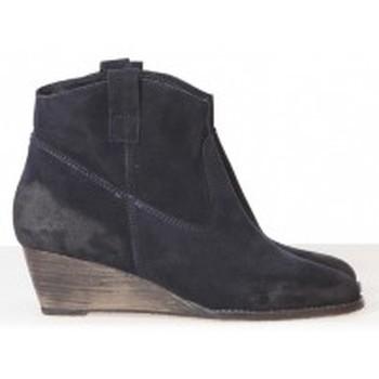 Zapatos Mujer Low boots Meline Méliné Boots BZ51 Marine Azul