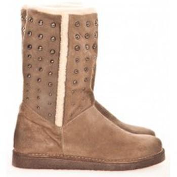 Zapatos Mujer Botas de caña baja Meline Boots NL 80  Beige Beige