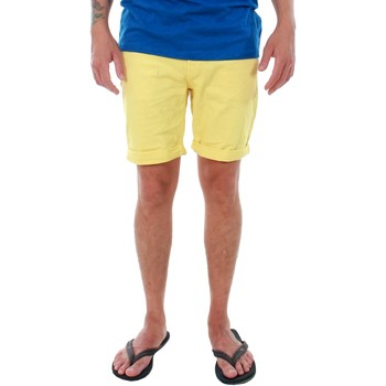 textil Hombre Shorts / Bermudas Jack & Jones 12136647 JJIRICK JJORIGINAL SHORTS KNIT AKM 481 CELANDINE Amarillo