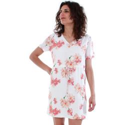textil Mujer Vestidos cortos Vero Moda 10201493 VMNEWOCCASION WHITE/LINA PRINT Blanco
