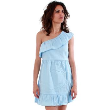 textil Mujer Vestidos Vero Moda 10192757 VMSIA ONE SHOULDER FRILL SHORT DRESS CERULEAN Azul