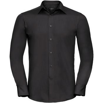 textil Hombre Camisas manga larga Russell 924M Negro