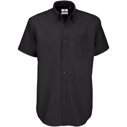 textil Hombre Camisas manga corta B And C SMO02 Negro