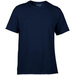 textil Hombre Camisetas manga corta Gildan 42000 Azul marino