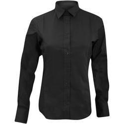 textil Mujer Camisas Kustom Kit KK388 Negro