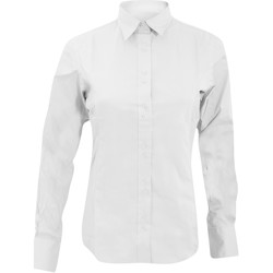 textil Mujer Camisas Kustom Kit KK388 Blanco
