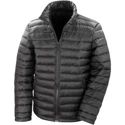textil Hombre Plumas Result R192M Negro