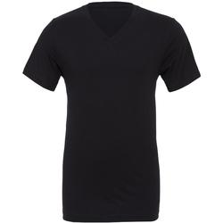 textil Hombre Camisetas manga corta Bella + Canvas CA3005 Negro