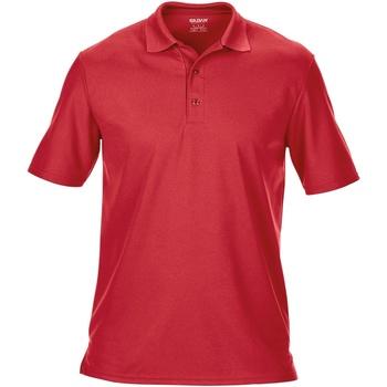 textil Hombre Polos manga corta Gildan 43800 Rojo
