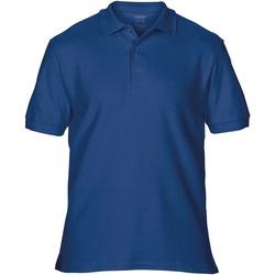 textil Hombre Polos manga corta Gildan Premium Azul Marino