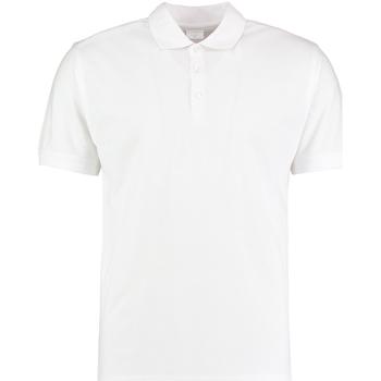 textil Hombre Polos manga corta Kustom Kit KK413 Blanco