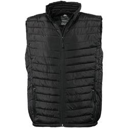 textil Hombre Plumas Tee Jays TJ9632 Negro