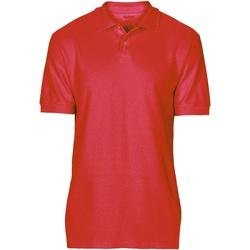 textil Hombre Polos manga corta Gildan 64800 Rojo