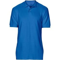 textil Hombre Polos manga corta Gildan 64800 Azul Royal