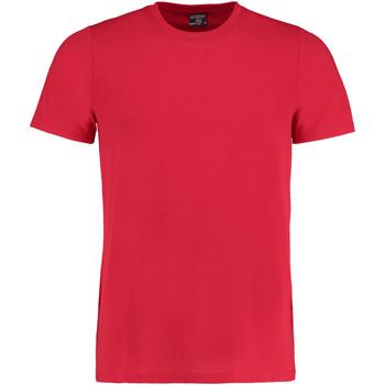 textil Hombre Camisetas manga corta Kustom Kit KK504 Rojo