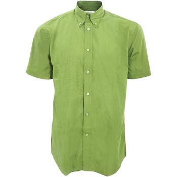 textil Hombre Camisas manga corta Kustom Kit KK100 Lima