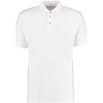 textil Hombre Polos manga corta Kustom Kit KK400 Blanco