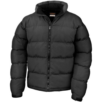 textil Hombre Plumas Result R181M Negro
