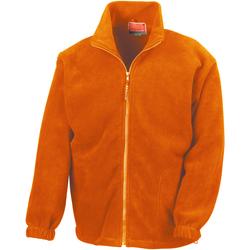 textil Hombre Polaire Result R36X Naranja