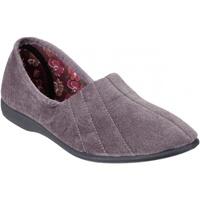 Zapatos Mujer Pantuflas Gbs  Gris