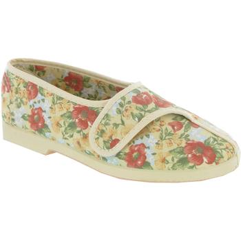 Zapatos Mujer Pantuflas Gbs WENDY SLIPPER Beige
