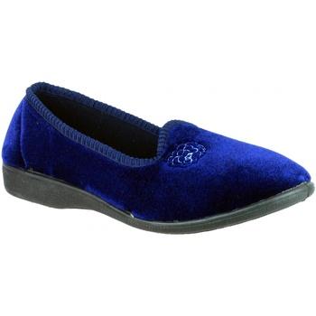 Zapatos Mujer Pantuflas Mirak Simone Azul marino