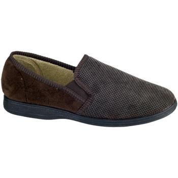 Zapatos Hombre Pantuflas Mirak Tim Marrón