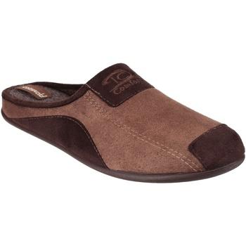 Zapatos Hombre Pantuflas Cotswold  Marrón