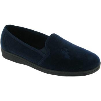 Zapatos Hombre Pantuflas Mirak Stag Slip-On Azul marino