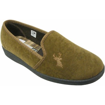 Zapatos Hombre Pantuflas Mirak Stag Slip-On Marrón tostado