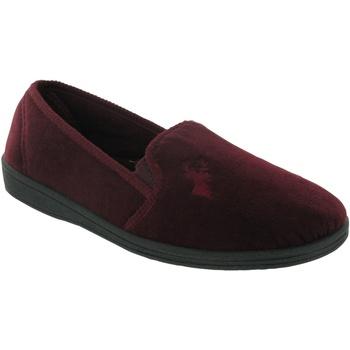 Zapatos Hombre Pantuflas Mirak Stag Slip-On Vino