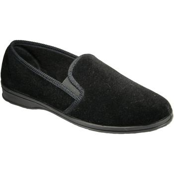 Zapatos Hombre Pantuflas Mirak Shepton Slip-On Negro