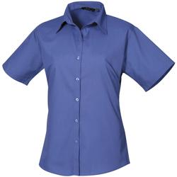 textil Mujer Camisas Premier PR302 Azul Real