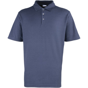 textil Hombre Polos manga corta Premier Stud Azul marino