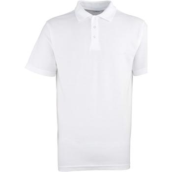 textil Hombre Polos manga corta Premier Stud Blanco