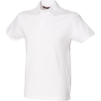 textil Hombre Polos manga corta Skinni Fit SFM42 Blanco