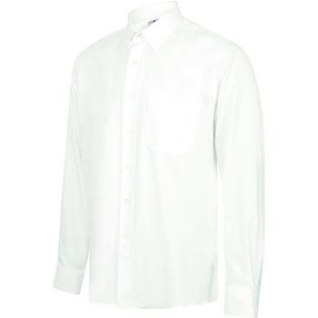 textil Hombre Camisas manga larga Henbury HB590 Blanco
