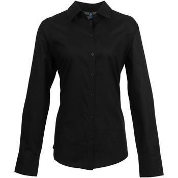 textil Mujer Camisas Premier PR334 Negro