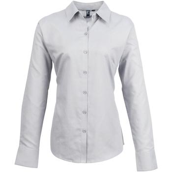 textil Mujer Camisas Premier PR334 Plata