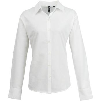 textil Mujer Camisas Premier PR334 Blanco
