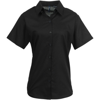textil Mujer Camisas Premier PR336 Negro