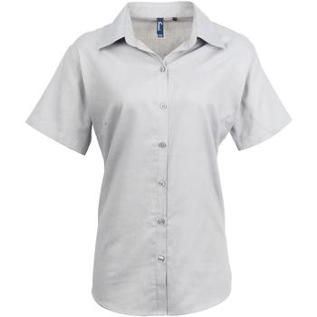 textil Mujer Camisas Premier PR336 Plata