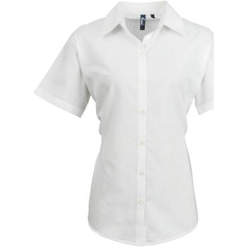 textil Mujer Camisas Premier PR336 Blanco