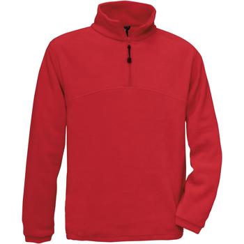 textil Hombre Polaire B And C Highlander Rojo